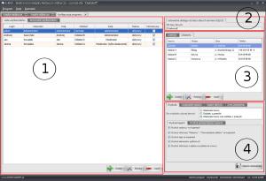 """Zrzut ekranu nr 1 - Okno główne modułu """"Konfiguracja programu"""""""