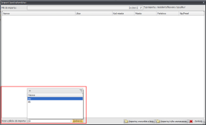 Zrzut ekranu nr 10- Wzory przykładowych plików do importu