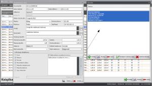 Zrzut ekranu nr 8 - Okno szczegółów wpisu - słownik treści dodatkowych