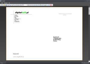 Zrzut ekranu nr 3 - Wydruk koperty o formacie C4 229x324mm.