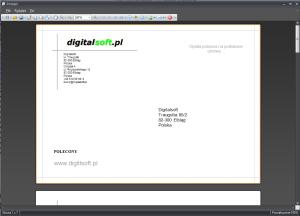 Zrzut ekranu nr 4 - Wydruk koperty o formacie C5 162x229.