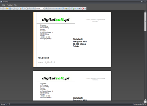 Zrzut ekranu nr 5 -Wydruk koperty o formacie C6 114x162mm.